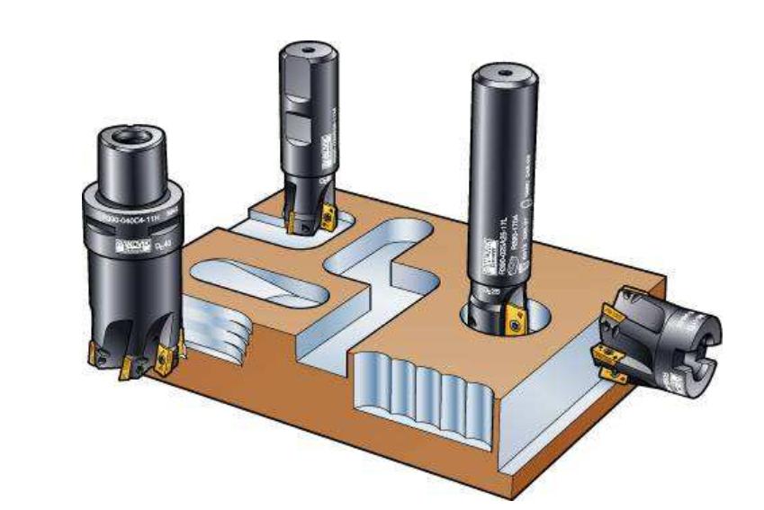 常见的CNC数控刀具种类和用途