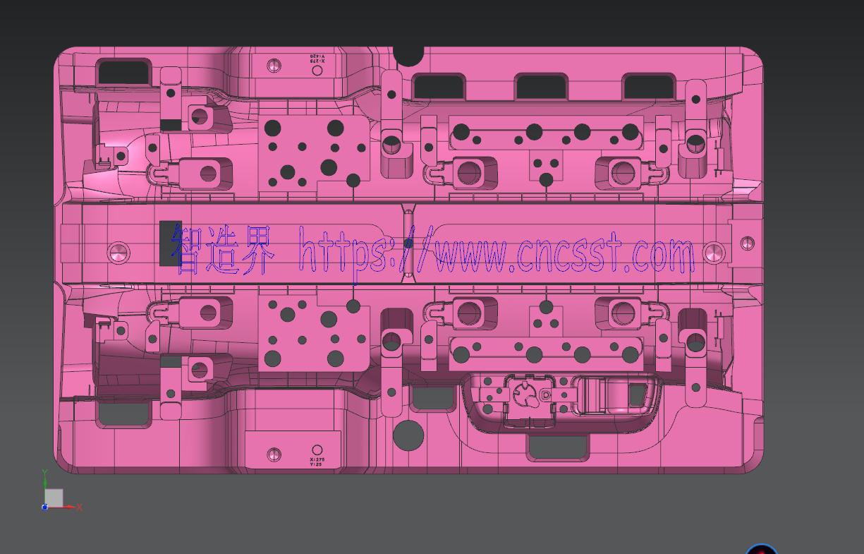 UG NX 大型模具图档–含刀路